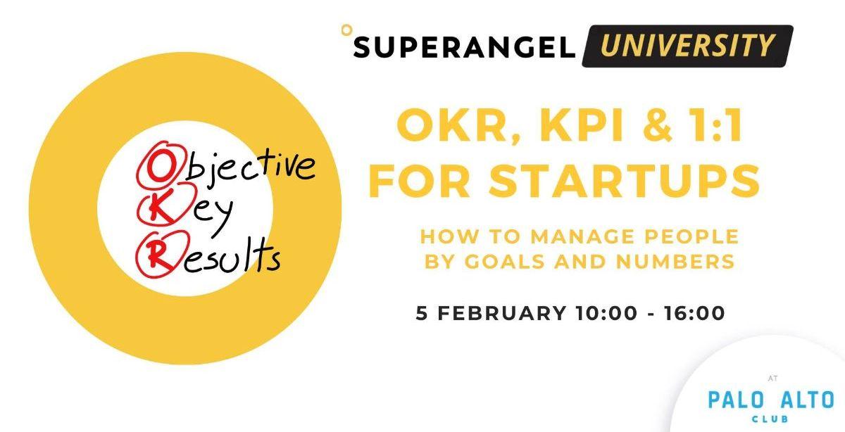 OKR, KPI & 1:1 for startups