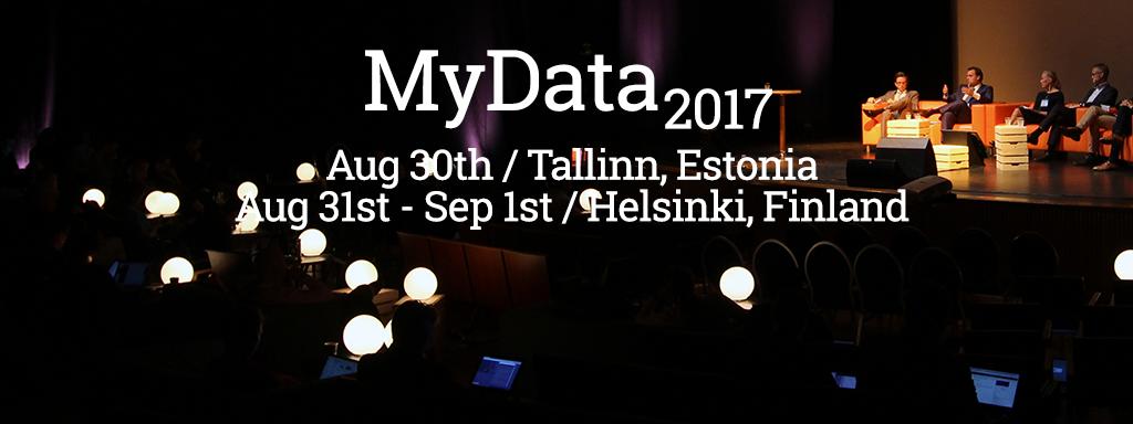 MyData 2017 conference