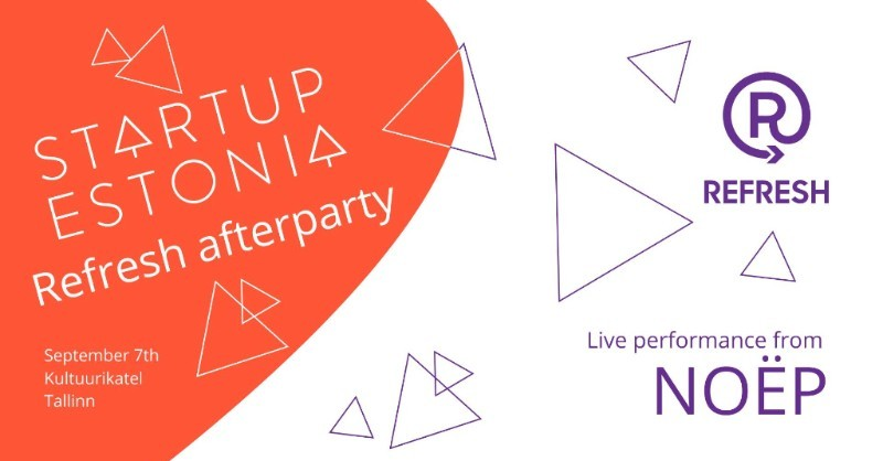Startup Estonia Refresh afterparty