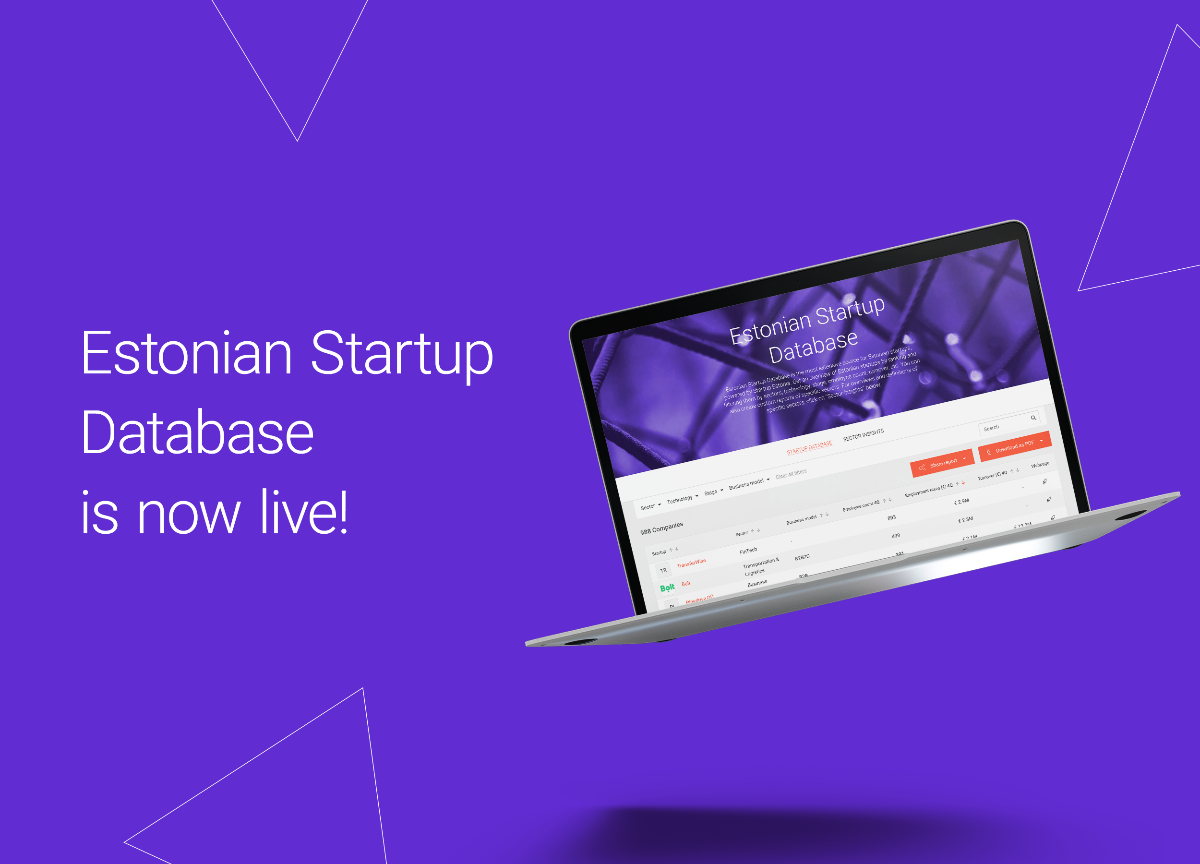 Estonian Startup Database is now live!