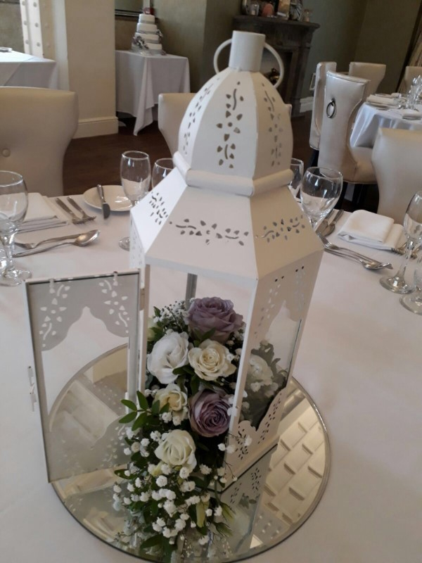 Table centrepiece for weddings