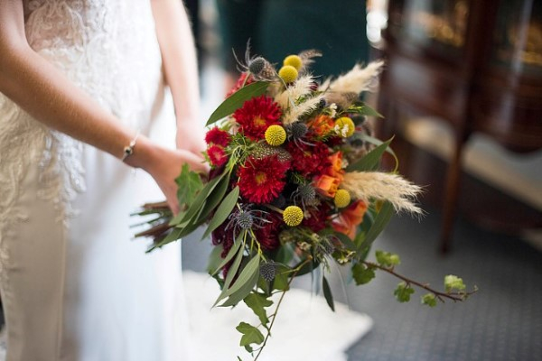 Autumn Bride Bouquet