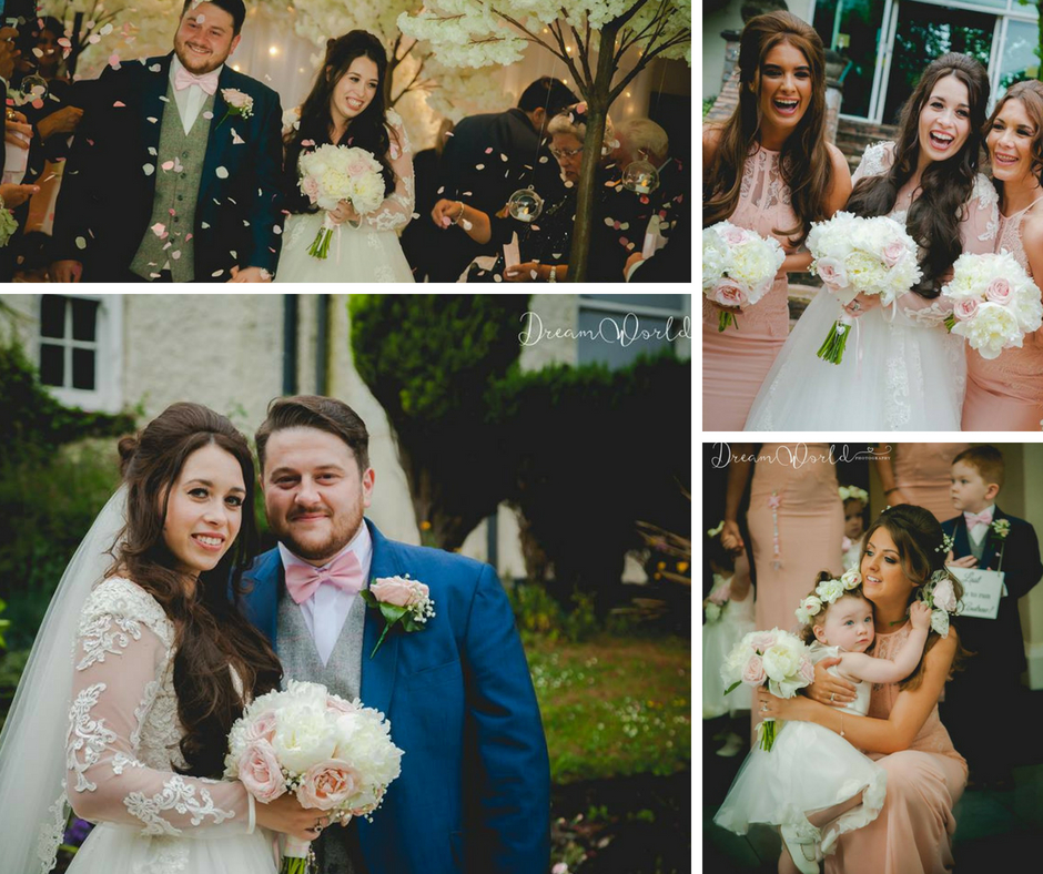 Blush Pink Rose and Peony Liverpool Wedding