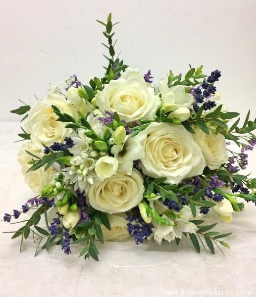 Rustic Wedding Bride HandTied Bouquet