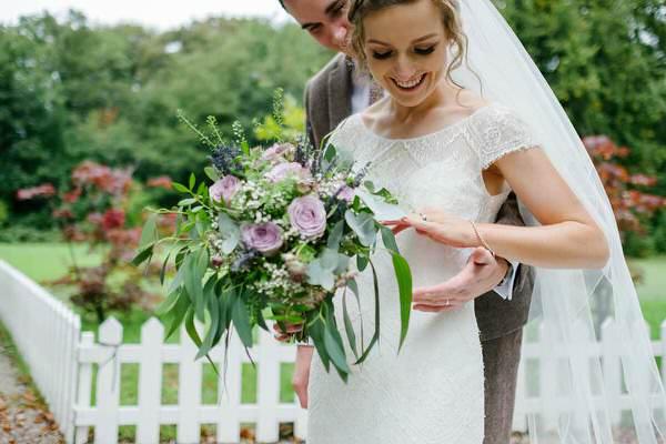 Wild Lilac Rustic Bride Handtied