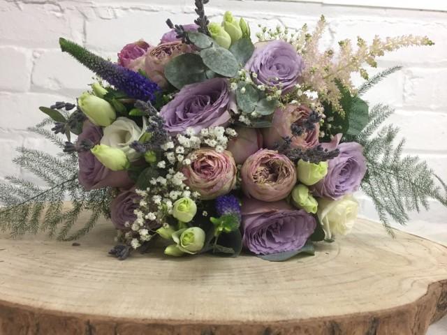 Bridesmaid Flowers for Hallmark Hotel Wedding