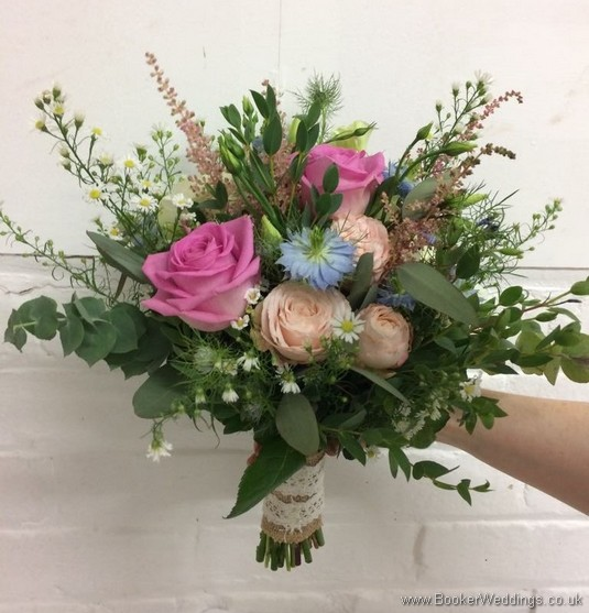 Rustic Wild Bridal Bouquet