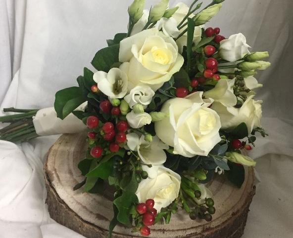 Christmas Winter Wedding Roses