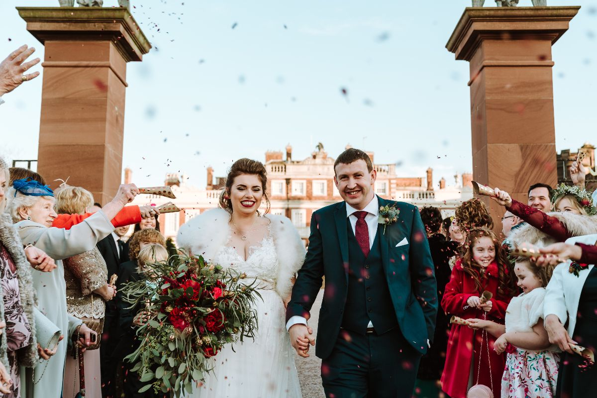 December Wedding at Knowsley Hall