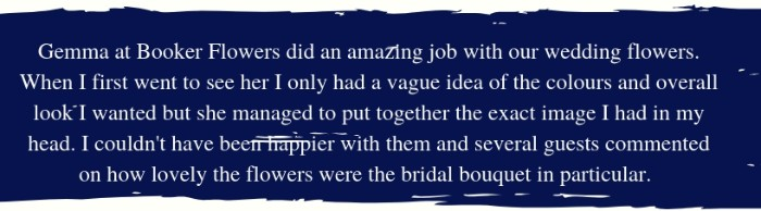 Happy Bride Google Review