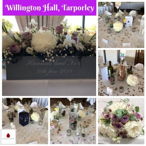 Willington Hall, Tarporley Wedding