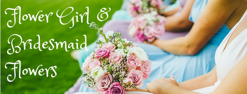 Flower Girl and Bridesmaid flowers
