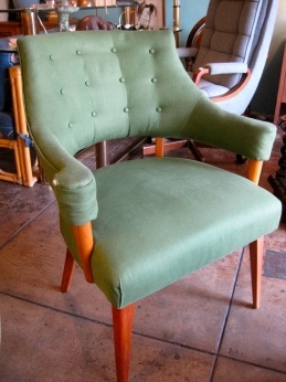 Linen Arm Chair | Casa VIctoria LA