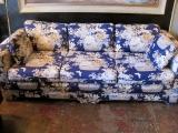 1980s Floral Couch | Casa Victoria LA