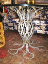 Iron Pineapple Breakfast Table | Casa Victoria LA