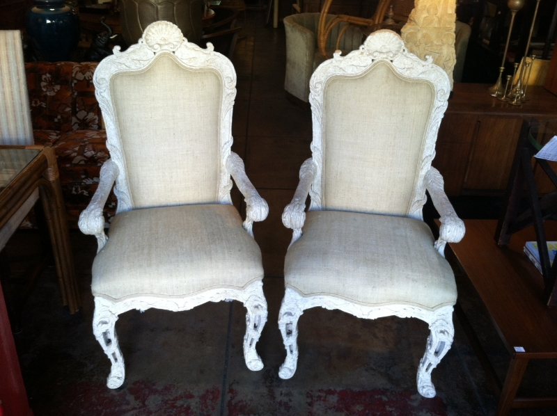 Pair of Arm Chairs by Phyllis Morris