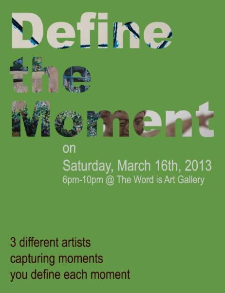 Define the Moment Art Event