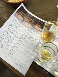 Tasting Notes at Four Roses