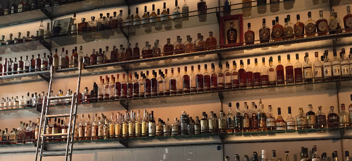 The Temple of American Whiskey at Hard Water