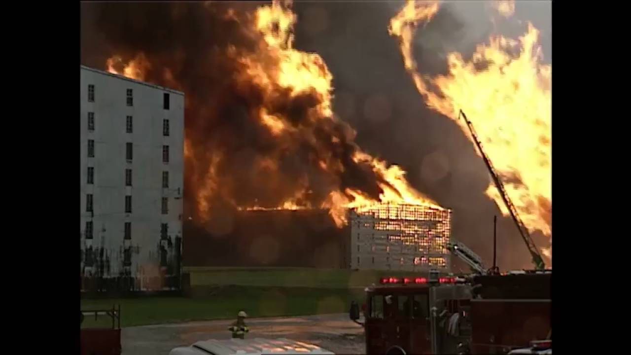 Heaven Hill Distillery Fire