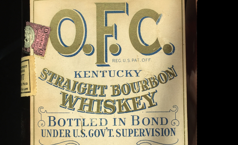 O.F.C Bottled-in-Bond Bourbon from G.T. Stagg