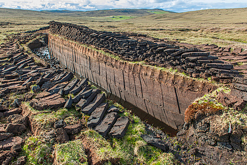 Peat for Cutting (Source: Robert Harding)