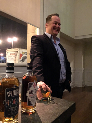 Matt Freerks of Westland Distillery