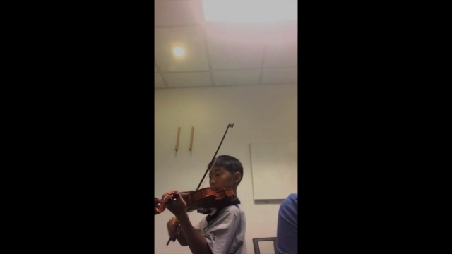 "Student playing ""Grey Eagle"" from O'Connor Method Book III"