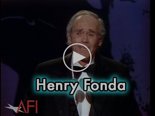 Henry Fonda Accepts the AFI Life Achievement Award in 1978