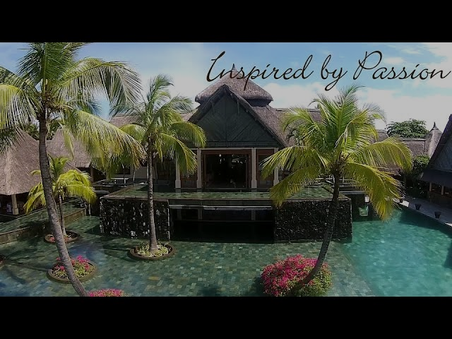 Constance Belle Mare Plage Aerial drone video