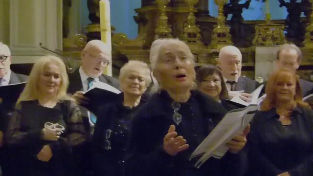 Fausta Truffa sing 90 years old