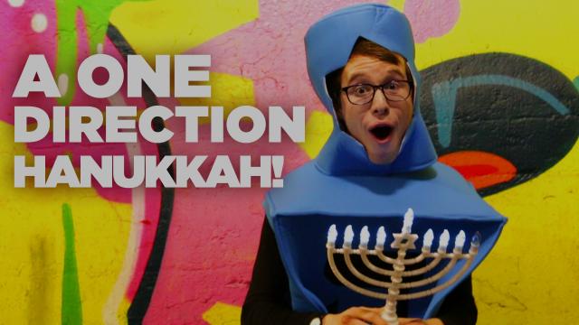 """A ONE DIRECTION HANUKKAH"" - EPIC PARODY MASHUP!"
