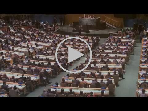 Adoption of the Sustainable Development Goals - New York City, USA