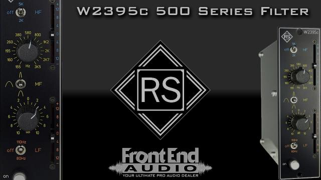 Roger Schult W2395c 500-Series Pre-Filter Equalizer