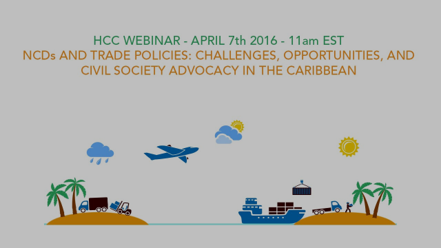 NCDs and Trade Policies: Challenges, Opportunities, and Civil Society Advocacy in the Caribbean