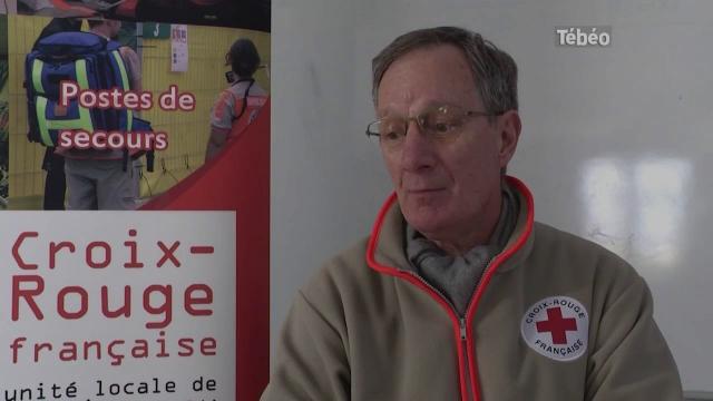 Visite de courtoisie de la croix rouge francaise