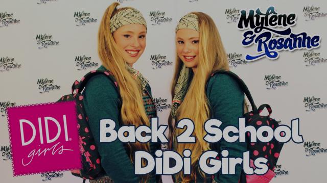 Back2School DidiGirls Mylène & Rosanne