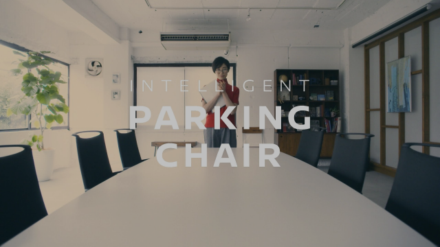 INTELLIGENT PARKING CHAIR   Inspired by NISSAN #技術の日産