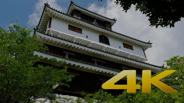 Yamaguchi Iwakuni Castle - 岩国城 - 4K Ultra HD