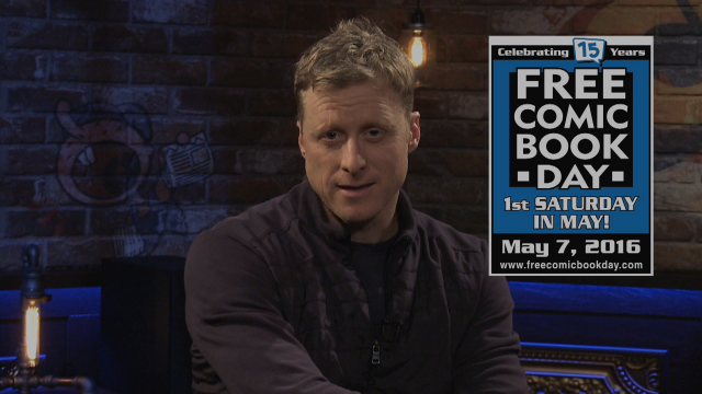 Alan Tudyk On His Spectrum Comic For Free Comic Book Day