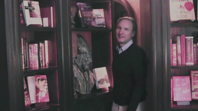 Author Dan Brown donates to digitize ancient texts