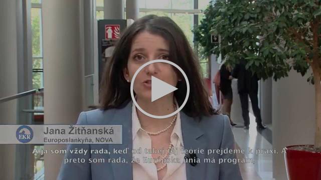Jana Žitňanská: Pomoc začínajúcim podnikateľom