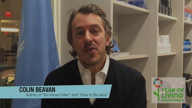 'No Impact Man' Colin Beavan on helping the habitat