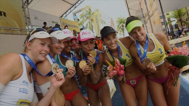 Maceio Open 2016 celebrates medals!