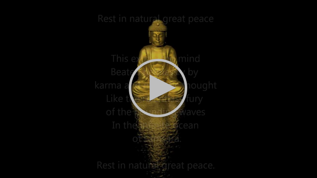 Rest In Natural Great Peace -~- Nyoshul Khenpo Rinpoche.wmv