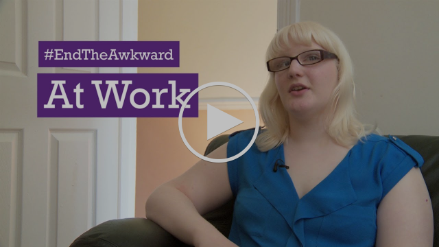 'End The Awkward' At Work - Disabled people tell Scope their stories and tips