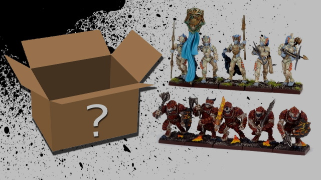 What's in the Box: Kings of War Forces of Nature