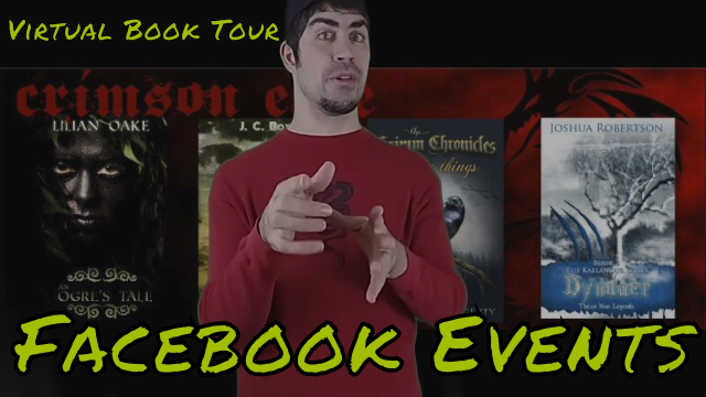 Virtual Book Tour: Facebook Events