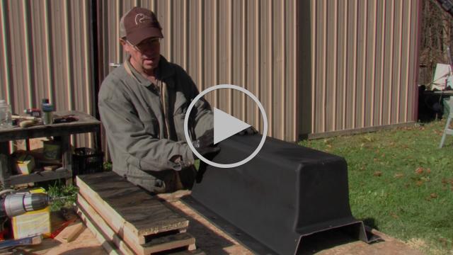 John Bradburn Builds Bat Houses Out of Scrap Chevrolet Volt Battery Covers