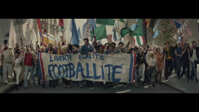 If Carlsberg did La Révolution...